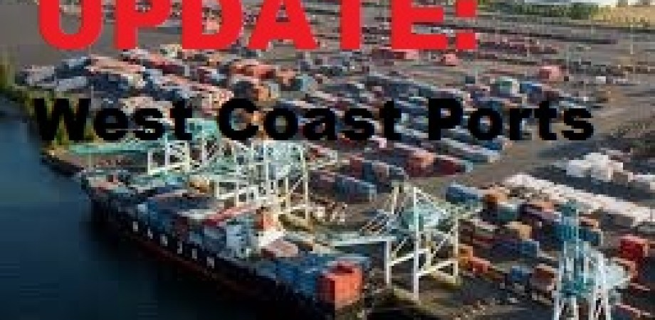 UPDATE: West Coast Port / Dock
