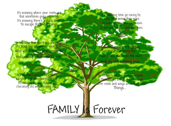 Blended Family Poetry ~ What Makes a Family?