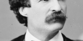 Samuel Langhorne Clemens aka. Mark Twain (1835-1910) - American author