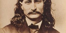 Wild Bill Hickok (1837-1876) - hero of the American Old West