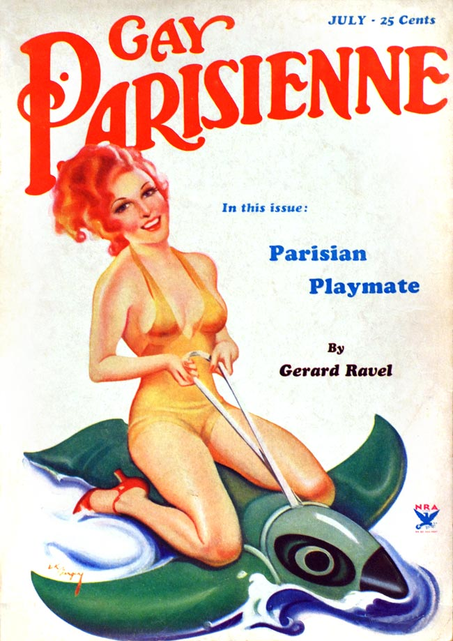 Gay Parisienne - 1934 - Old vintage sexy magazine