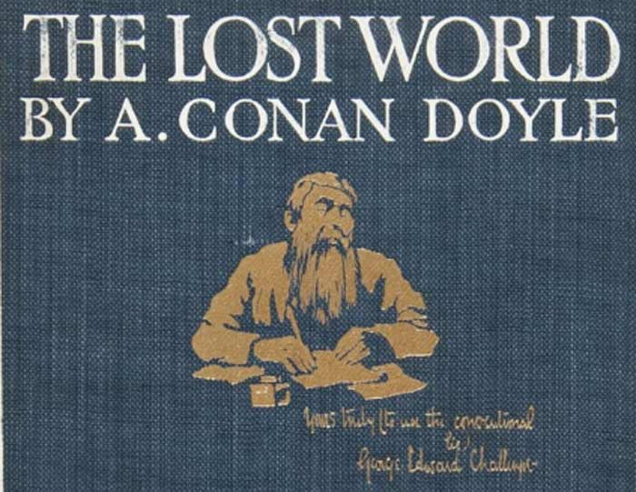 The Lost World - Sir Arthur Conan Doyle (first edition 1912)