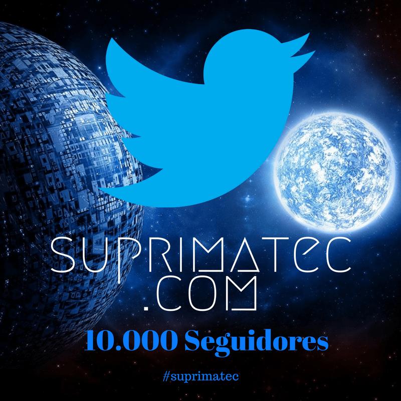 Obrigado aos dez mil seguidores no Twitter