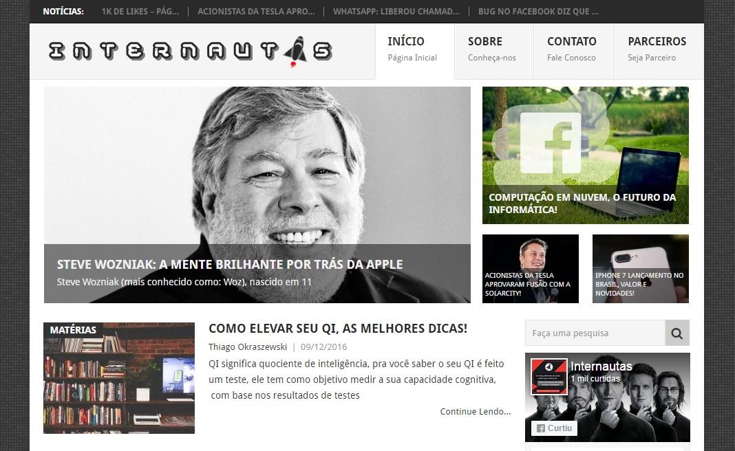 Nova parceria: Blog Internautas