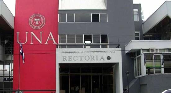 rectoria UNA