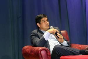 Conversatorio de la FEUNA con Carlos Alvaradob