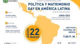 Presentación del libro Politica y matrimonio gay en America Latina