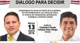 UNA invita publicamente a los candidatos presidenciales a un dialogo para decidir2