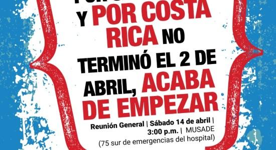 Coalicion San Ramon la lucha por San Ramon y por Costa Rica no termino