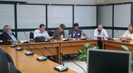 Territorios Seguros reunion con vista a XVII Actividad de Gala de Rendicion de Cuentas