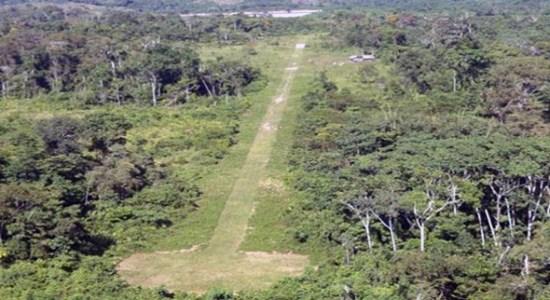 Narcopista en Olancho, Honduras.