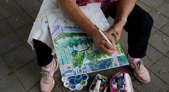 Celebración Día del Arte en la Plaza de la Libertad de Expresión