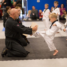 Each student learns techniques and self-confidence to perform in front of others.