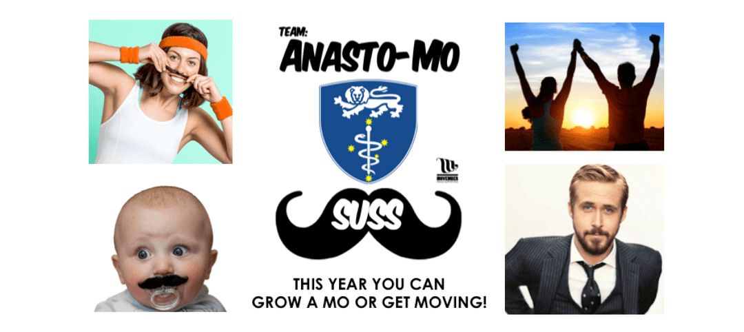 Support men's health: join Team Anasto-Mo-SUSS for Movember!