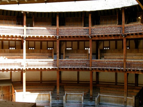 Shakespeare's Globe seating