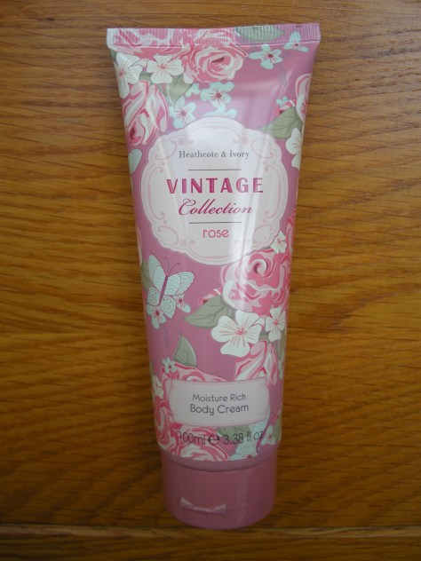 Heathcote and Ivory body cream