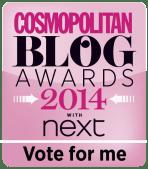 Cosmo Blog Awards shortlist
