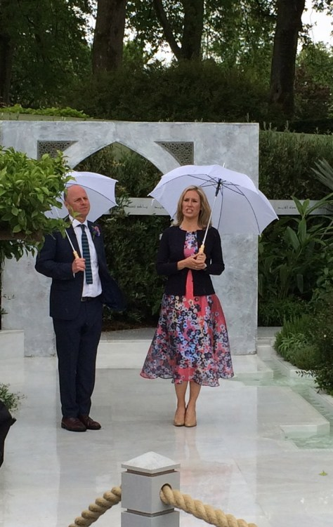 Sophie Raworth Chelsea Flower Show