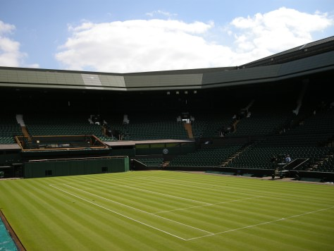 Wimbledon tennis 2015 court