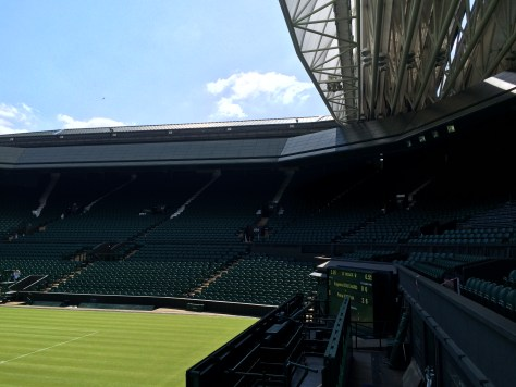 Wimbledon Tennis court 2015