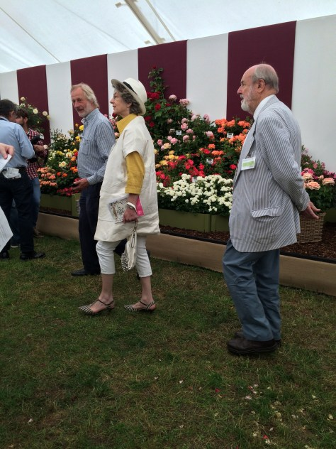 Maureen Lipman Hampton Court Flower Show