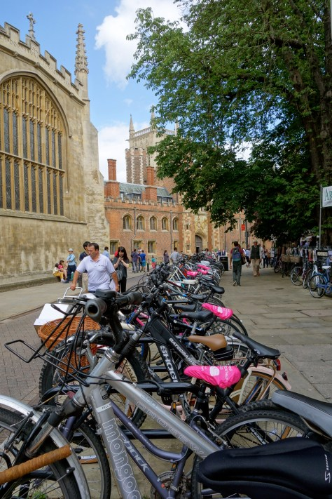 Cambridge by bike