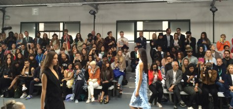 London Fashion Week catwalk show