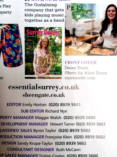 Surrey Downs magazine