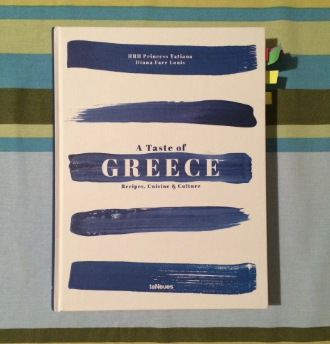A Taste of Greece cookbook