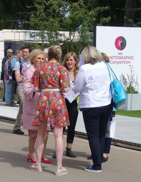 Mary Berry RHS Chelsea Flower Show