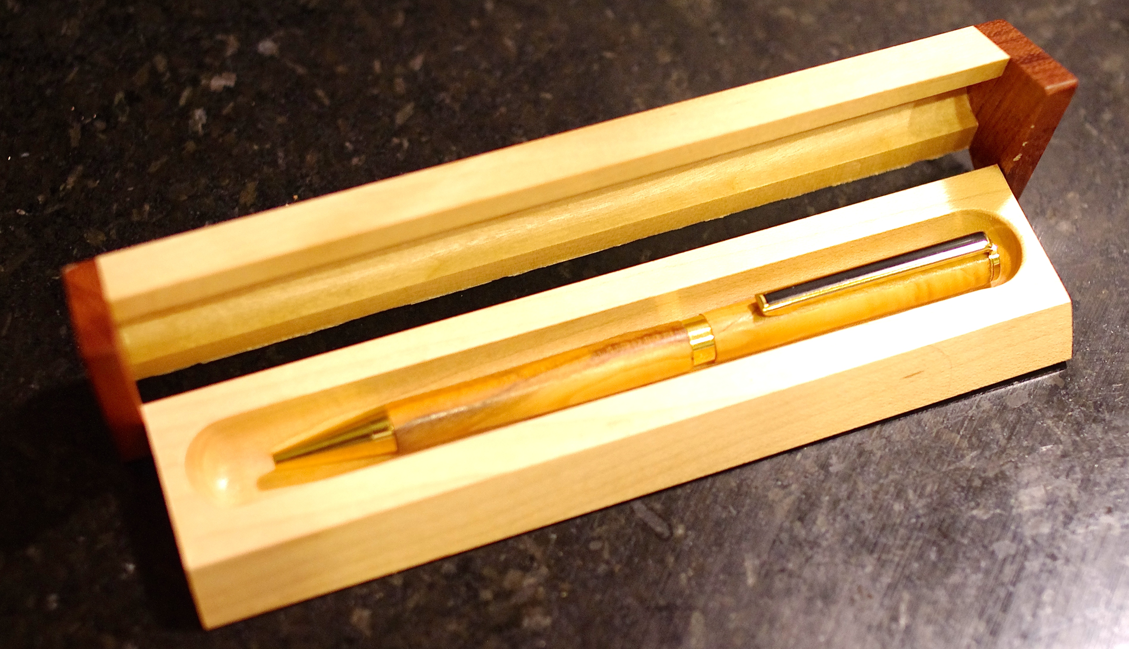 5th wedding anniversary gifts for husband 5th wedding anniversary forget that wood was the traditional gift for the 5th wedding anniversary so here is the stunning yew wood pen and gift box i bought for my husband