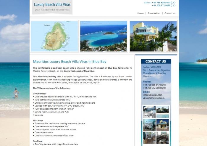 Luxury Beach Villa Viras