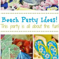 Beach Party Ideas - This party is all about the fun!
