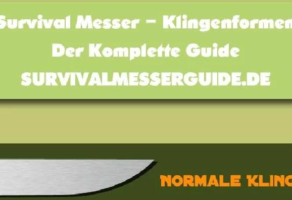 Klingenformen von Messern – Der komplette Guide