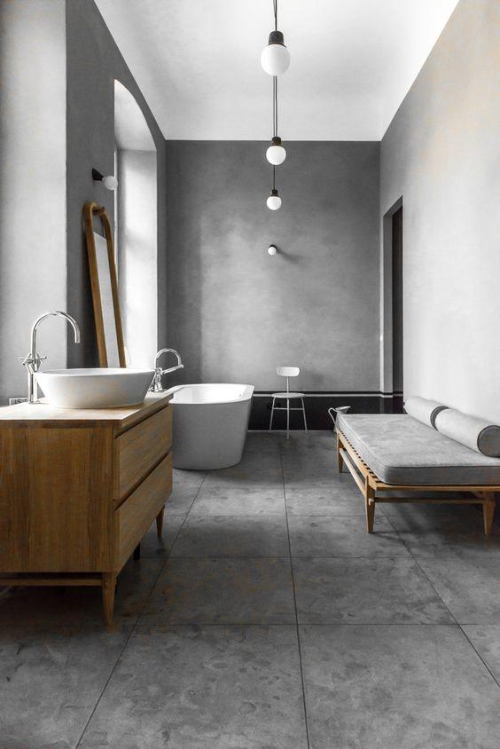 gris cemento bano.deleite blog
