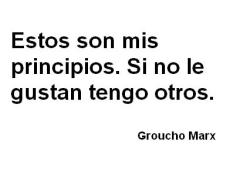 Groucho principios