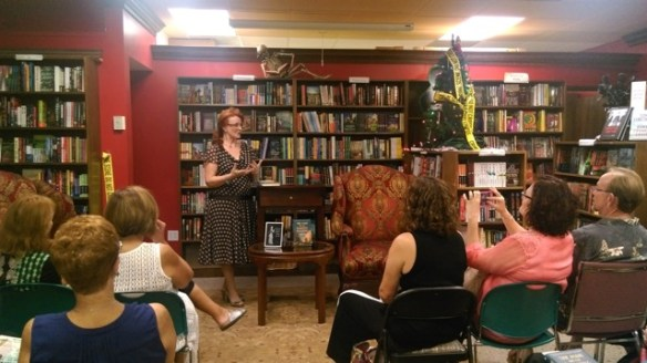 East Coast launch party at the only mystery bookstore in Florida, Murder on the Beach in Delray Beach. December, 2015.