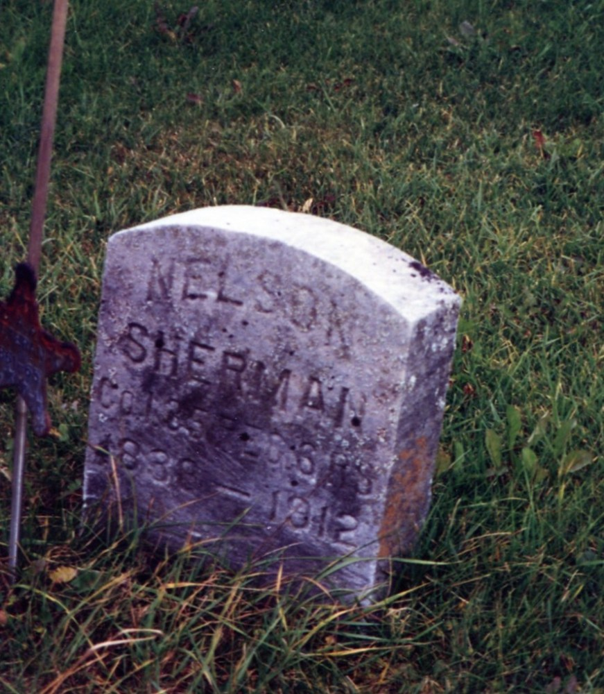 Sherman Gravestones, part 2 (6/6)