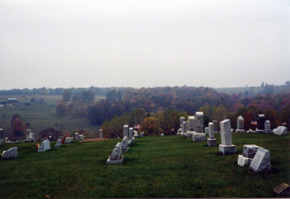 Henry Sherman, Elizabeth (Thrash) Sherman Gravestones (2/4)