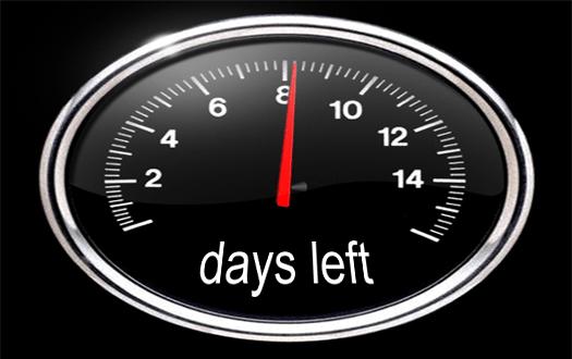 Tick tock, tick tock