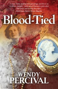 BLOOD-TIED cover image