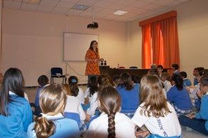 Workshop with Years 5 & 6