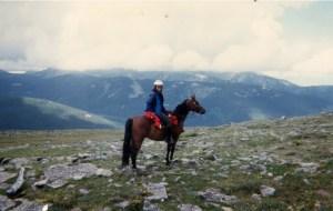 Jicarita Peak ride, 12,000 feet elevation