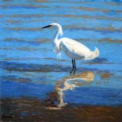 Egret 2 by Susan Sternau