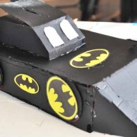 The Batmobile Valentine Box: The COMPLETED Creative Masterpiece