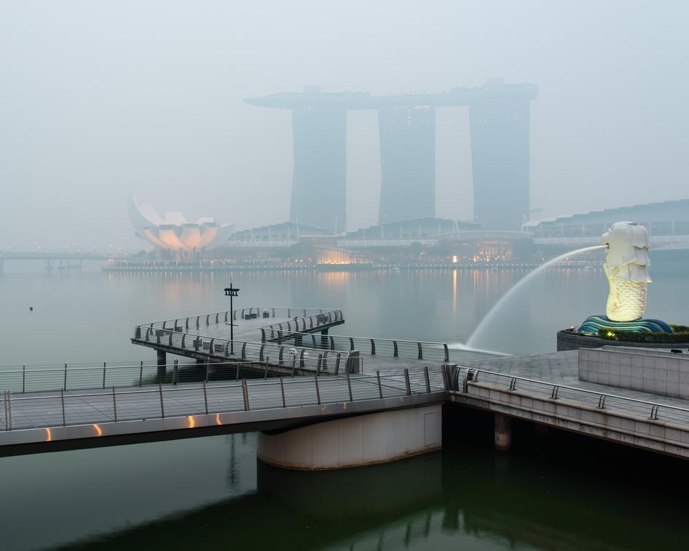Smog in Singapore