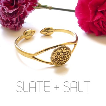 shop slate and salt fair trade jewelry recycled brass