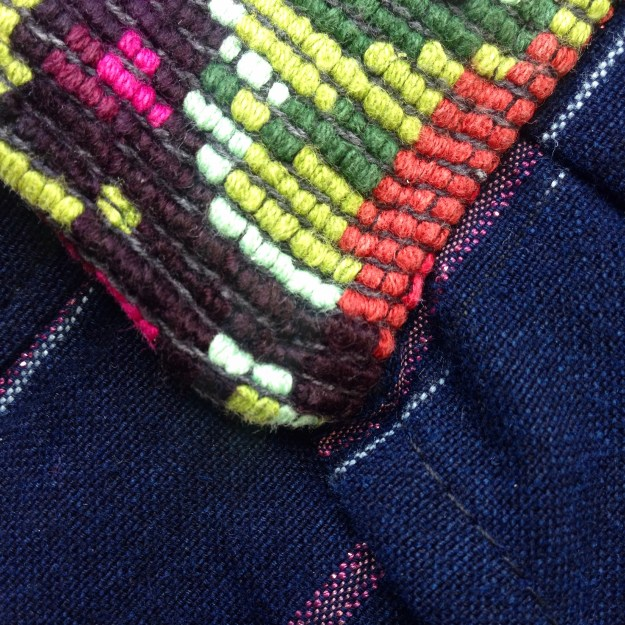 jumper siempre viva clothing sustainable ethical fashion handmade mexican textiles