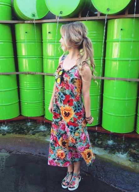Sustainable Daisy: thrift shopping upcycling sustainable fashion recycled clothes ecofashion picture image