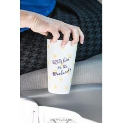 Sophisticated Upcycle Any Plain Travel Mug To A Customized Diy Mug 1626 Plain Ceramic Travel Mugs Plain Porcelain Travel Mug